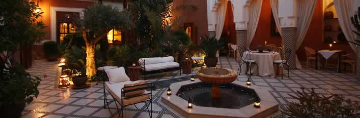 Ryad Agdid-Patio rental Marrakech